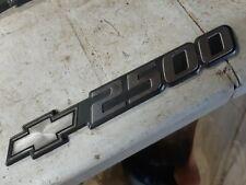 OEM Chevrolet Silverado 2500 1999 to 2006 Door Emblem #1