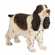 More details for  quality brown & white cocker spaniel dog ornament/figurine.leonardo.gift boxed