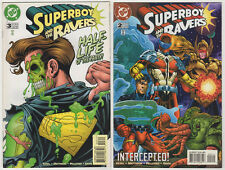 SUPERBOY and the RAVERS VF LOT (10) DC comics 1996-98 Kesel Mattsson Dan Davis