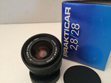 Carl Zeiss Jena 28mm f2.8 MC lens Praktica B mount PB                         JP