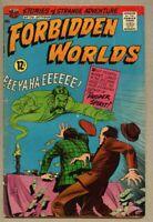 Forbidden Worlds #139-1966 vg/fn 5.0 ACG Kurt Schaffenberger / Magicman