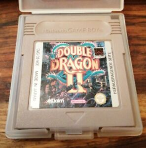 ORIGINAL NINTENDO GAMEBOY GAME DOUBLE DRAGON II 2 GAME ONLY NICE CONDITION