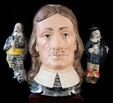 """Royal Doulton Character Jug - """"Oliver Cromwell"""" D6968"""