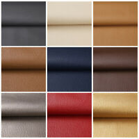 """1/3/5 Yards Faux Leather Fabric Upholstery Pleather Marine Vinyl Fabric 54"""" Wide"""