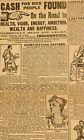 1890's Quack Medicine Ad Newspaper Egyptian Drug Co NYC Antique