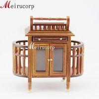 1:12 Scale Fine Dollhouse Miniature Furniture Handmade Kitchen Set  Food Cart