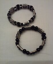 Mens - Womens Friendship Bead Celtic Charm Bracelet stretchable Cork Ireland