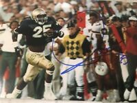 Raghib Rocket Ismail Signed 4x6 Photo Notre Dame Auto Irish