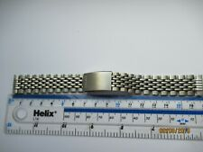 Seiko 17mm Beads of Rice Bracelet vintage flat End Links used will fit all 17mm