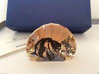 Swarovski Crystal 2016 SCS   LION HEAD Paperweight 5135901