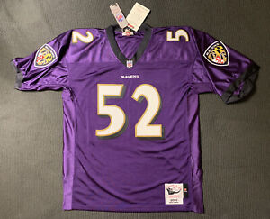 Mitchell & Ness Ray Lewis Baltimore Ravens 2000 NFL Authentic Jersey Size XL