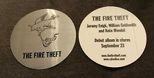 Fire Theft Sticker Official Promo 2003 Sdre Sunny Day Real Estate