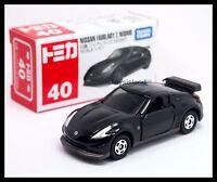 TOMICA #40 NISSAN FAIRLADY Z NISMO 1/57 TOMY BLACK DIECAST CAR