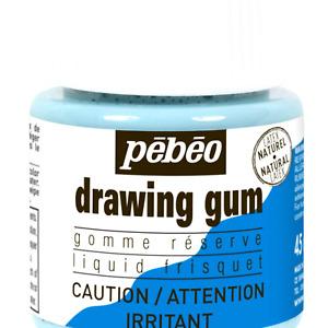 Pebeo Liquid Latex Masking Fluid Drawing Gum, 45ml/1.52oz Bottle 45 ml