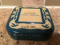 Vintage Underwood Allegheny County Special Ribbon  S301  Advertising Tin