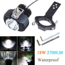 18W 2700LM Motorcycle LED Headlight Spot Light DRL Driving Fog Lamp Waterproof