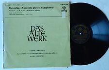 GUSTAV LEONHARDT Telemann Bach ANDRE RIEU Telefunken Das Alte Werk LP BAROQUE