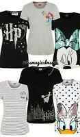Brand New Women's Disney/Harry Potter T Shirts Daisy, Minnie, Ariel, Marie