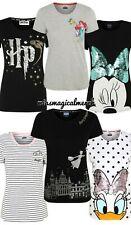 Brand New Women's Disney/Harry Potter T Shirts Daisy, Minnie, Ariel, Marie