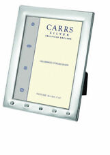 English Silver Photo Frame 8 x 6 Inches With Feature Hallmark For 2019