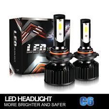 40W 9005 HB3 DOT LED Headlight Bulbs For Can-Am Commander Outlander Renegade LXQ