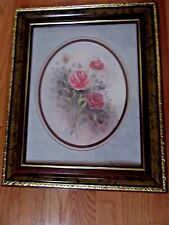 Home Interior by Wyona Newton Pink roses with buds 1 of 2