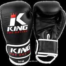 KING Boxhandschuhe KPB/BG 3. 10-16oz. 100% Leder. Muay Thai, Kickboxen.Training
