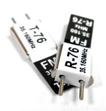 RC de radio control remoto 35 MHz 35.160 FM Cristal 35 MHz conversión simple Ch 76