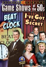 Game Shows of The 50s: Beat The Clock / I've Got A Secret NEW DVD
