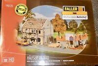 Jeu Maisons dans Bâtiment faller 190125 H0 1:87 Kit Jamais-Assemblé Ovp Neuf Å
