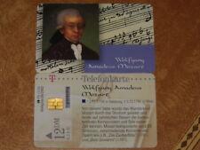 Telefonkarte dt.Telekom , gut erhalten Komponist * Wolfgang Amadeus MOZART * 031