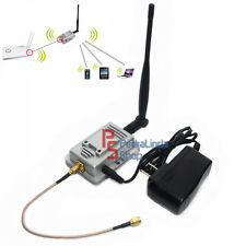 PDR*AMPLIFICATORE SEGNALE PER ANTENNA ROUTER BOOSTER 2W ACCESS POINT WIFI 2.4GHZ