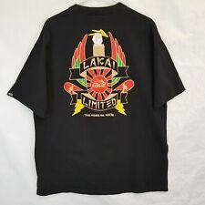 Lakai Limited Footwear Sz Xl Vtg Usa Made Skateboard T Shirt Skate Wear Apparel