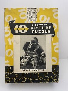 Vintage Perfect Picture Puzzle over 275 pieces No. 10 NEW PLAYMATES