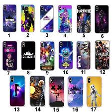 Fortnight Boys Kids Phone iPhone 6 6S 7 8 Samsung S7 Soft Case PS4 Xbox Battle