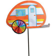 "Teardrop 19"" Camper Staked Wind Spinner with Pole & Ground Mount.15. Pr 25682"