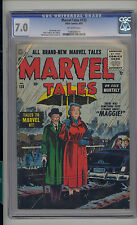 Marvel Tales #133 CGC 7.0 FN/VF Unrestored Marvel PCH Pre Code Horror OW Pages