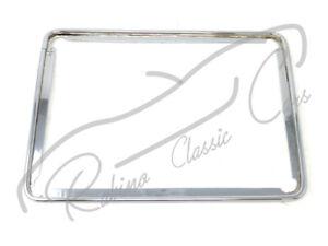 Rear license plate chromed years 50 60 FERRARI LANCIA MASERATI ALFA ROMEO
