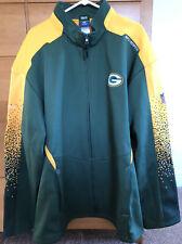 Men's Green Bay Packers Football NFL Jacket Xxxl 3XL Full Zip Jacket