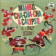 MAMBO CHA CHA CHA & CALYPSO VOL 2 CRAZY SESSION JUKEBOX RECORDS VINYLE NEUF NEW