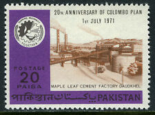 Pakistan 304, MNH. Colombo Plan, 20th anniv. Cement Factory, Daudkhel, 1971