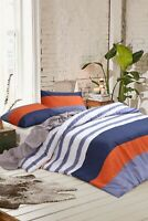 Quilt/Duvet Cover Set-Stripes Single/KS/Double/Queen/King/Super K 100% Cotton