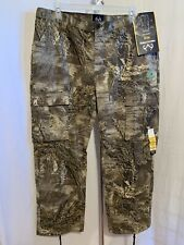 Realtree Max-1 XT Men's Size XL (40/42) Camouflage Cargo Hunting Pants NWT