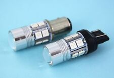 Ford Falcon BA BF AU HiPower Red Cree LED Tail Brake Light Globes - Error Free