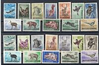 Romania 1956 – Hunting ,Fauna – 2 Complete Sets ,Very Fine , MNH** ,  (n698)