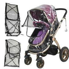 Baby Carriage Buggy Pushchair Waterproof Raincoat Stroller Dust Rain Cover CS