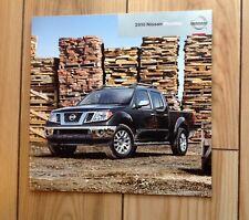 2010 Nissan Frontier Pick up Brochure