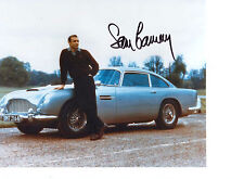 Sean Connery James Bond Genuine Autograph - UACC / AFTAL.