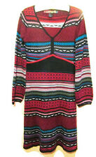 Desigual Rainbow Sweater Dress Size M