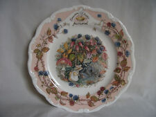 Brambly Hedge – Autumn Plate – Royal Doulton – Ref 1430
